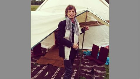 Image courtesy of Image Courtesy Mick Jagger via Instagram (via ABC News Radio)
