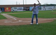 Tony Waitekus at the Woodchucks game June 29 13 4