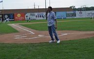 Tony Waitekus at the Woodchucks game June 29 13 3