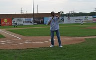 Tony Waitekus at the Woodchucks game June 29 13 2