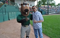 Tony Waitekus at the Woodchucks game June 29 13: Cover Image