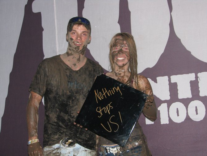 Tuesday night was muddy.  Which was not missed in the Y100 Show Us Your Smiles Photo Booth presented by Northstar Dental.