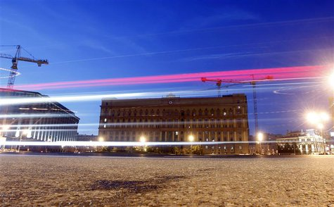 A general view shows the headquarters (C) of the Federal Security Service in Moscow, July 1, 2013. REUTERS/Maxim Shemetov