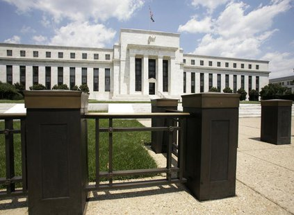 The Federal Reserve Building is seen in Washington June 25, 2008. REUTERS/Yuri Gripas