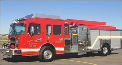 Town of Wilson Fire Truck
