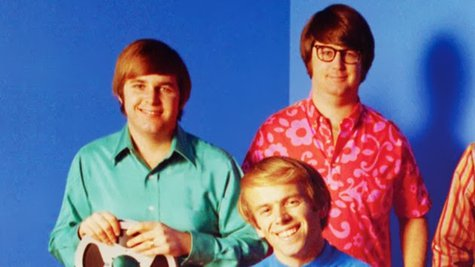 Image courtesy of L to R: Carl Wilson, Al Jardine, Brian Wilson (Capitol Records Archives) (via ABC News Radio)
