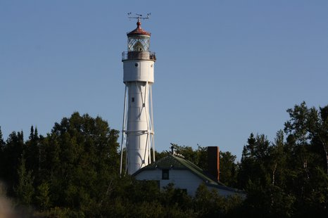 Devils Island Lighthouse (courtesy of WikiCommons).