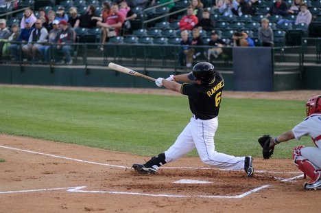 Canaries Outfielder J.P. Ramirez. Photo courtesy of Chad Phillips Photography.