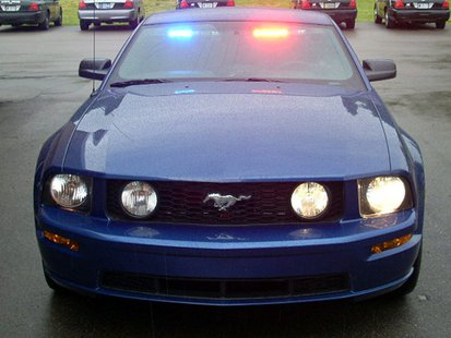 ISP unmarked Mustang