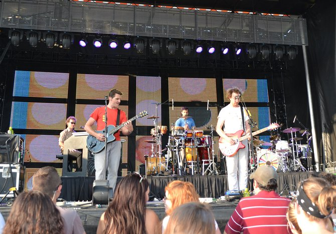 Guster at Newman Outdoor Field Wednesday, July 3rd.