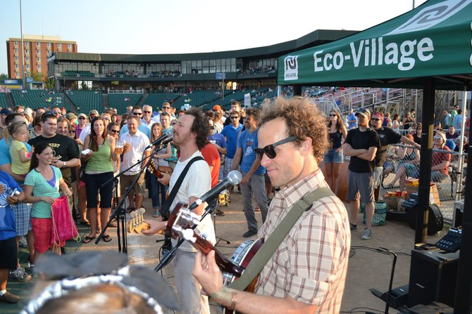 Guster on the Eco Stage