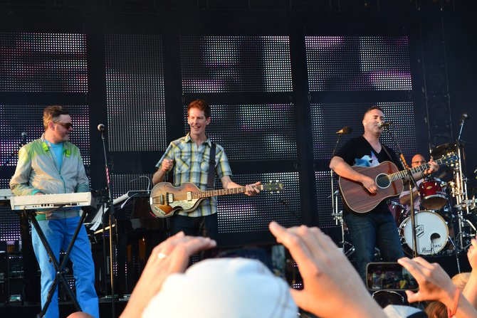 Barenaked Ladies at Newman Outdoor Field Wednesday, July 3rd.