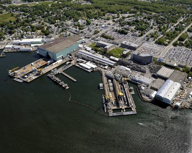 Electric Boat shipyard