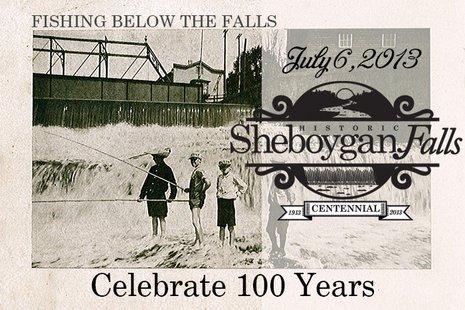 Sheboygan Falls Centennial Logo