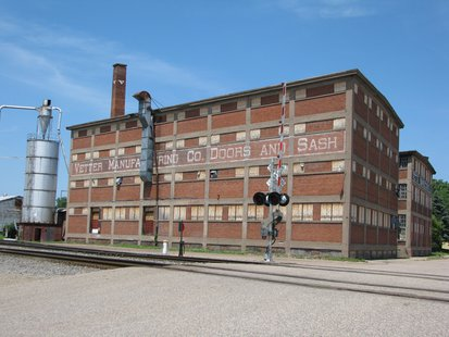 Former Vetter Manufacturing facility in Stevens Point, WI