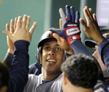 Cleveland Indians OF Michael Brantley REUTERS/Dave Kaup