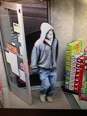 from surveillance video taken during incident.  provided by Cloquet Police