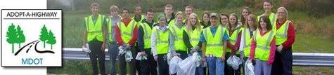 Michigan Adopt A Highway Volunteers