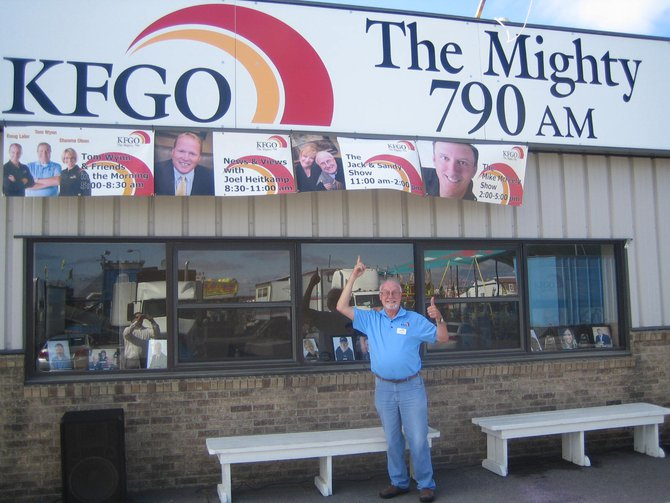 Come see the KFGO studio at the Fairgrounds next to the grandstands