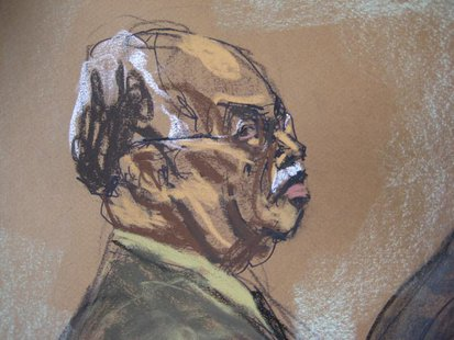 Dr. Kermit Gosnell, 72, is shown in this courtroom artist sketch during his sentencing at Philadelphia Common Pleas Court in Philadelphia, P