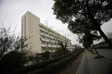 A building of Shanghai 863 Information Security Industry Base Co., Ltd, headquarters is seen at the Zhangjiang High Technology Park on the o