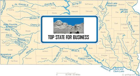 CNBC has named South Dakota as the number one state for business in America's Top States for Business 2013.  (KELO/KELQ)
