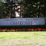 UW-Oshkosh sign (courtesy of WikiCommons).
