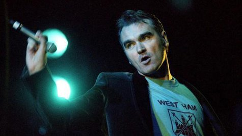 Image courtesy of Facebook.com/Morrissey (via ABC News Radio)