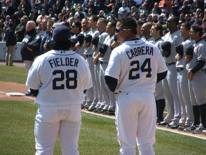 Prince Fielder and Miguel Cabrera