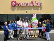 Menchie's Ribbon Cutting ceremony on July 11