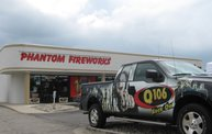 Q106 at Phantom Fireworks (6-27-13) 27