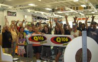 Q106 at Superior Grower's Supply (7-9-13) 11