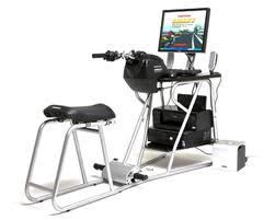 Honda Smart Trainer motorcycle simulator for training riders.