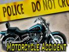 Motorcyle crash