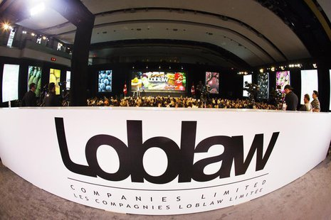 A general view of Loblaw Companies Limited Executive Chairman Galen G. Weston speaking during the annual general meeting of shareholders is