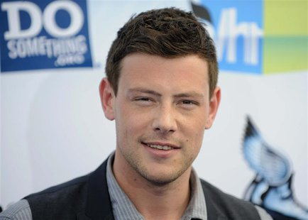 "Actor Cory Monteith arrives at the ""Do Something Awards"" in Santa Monica, California in this August 19, 2012 file photo. REUTERS/Gus Ruelas/"