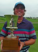 Bryant Buckellew, 2013 KFGO Fargo-Moorhead All-City golf champion.