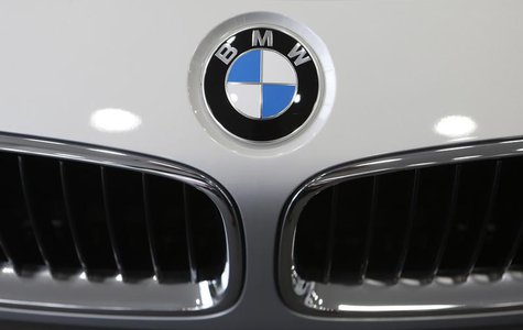 A BMW sedan is displayed for sale at a BMW dealership in Goyang, north of Seoul June 12, 2013. REUTERS/Lee Jae-Won