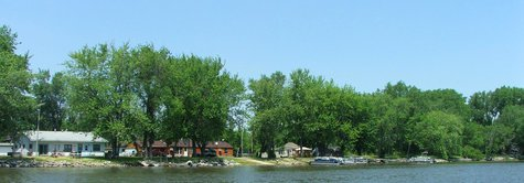 Blackhawk Island, along the north banks of the Rock River, just east of Lake Koshkonong. (Photo by: Scott Catron/WikiMedia Commons).