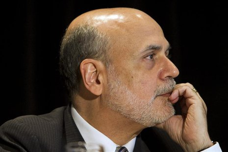 Federal Reserve Chairman Ben Bernanke attends a meeting of the National Bureau of Economic Research in Cambridge, Massachusetts in this July