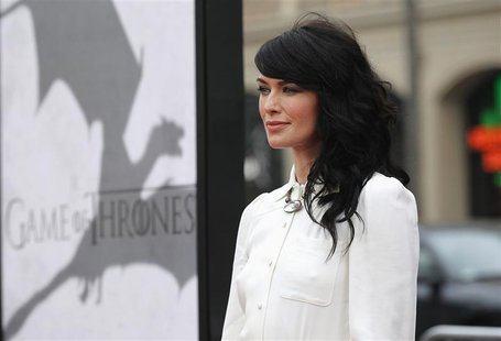 "Cast member Lena Headey poses at the premiere for the third season of the television series ""Game of Thrones"" in Hollywood, California March"