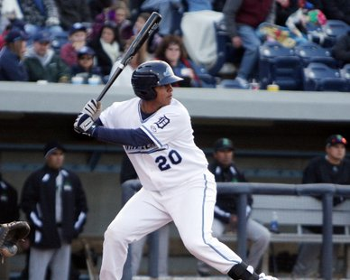 West Michigan Whitecaps C Adolfo Reina (photo courtesy West Michigan Whitecaps)