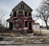 An abandoned home stands as a symbol of Detroit, MI filing for the largest municipal bankruptcy in U.S. history. Reuters file photo