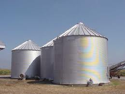 grain bin file photo