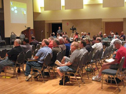 Deer Trustee Report meeting at UWSP 7/20/13