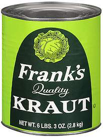 Frank's Kraut can