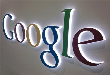 A Google logo is seen at a Best Buy electronics store in this file photo illustration taken in Encinitas, California, on April 11, 2013.  REUTERS/Mike Blake/Files