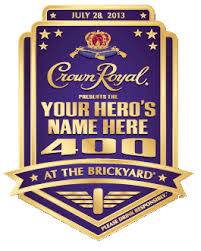 2013 Brickyard 400 logo