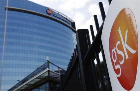 The GlaxoSmithKline building is pictured in Hounslow, west London June 18, 2013.REUTERS/Luke MacGregor