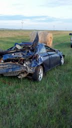 Casselton girl hurt in Griggs County crash